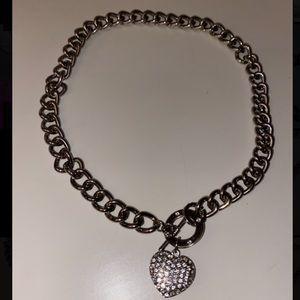 GUESS heart chain ⛓